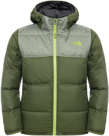 eb14cd0e ... low price the north face boys rev moondoggy jacket terrarium green gode  tilbud hos no dc670